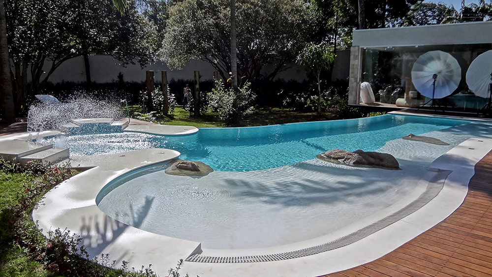 piscina cristal pool hp